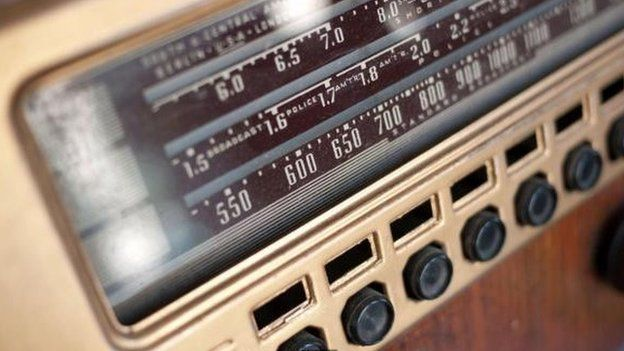 Un radio antiguo