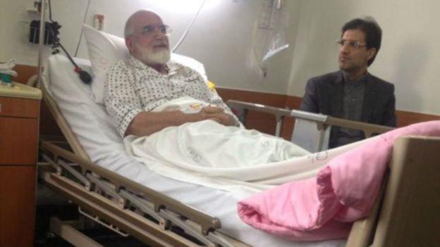 مهدی کروبی در دوره حصر چندبار کارش به بیمارستان و عمل جراحی کشید