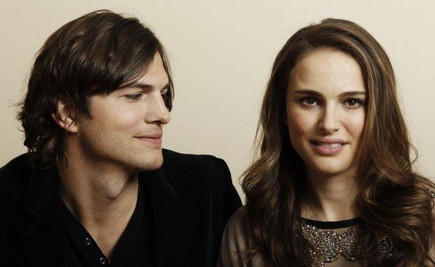 Ashton Kutcher y Natalie Portman