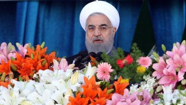 Madaxweynaha Haatan Talada haya Hassan Rouhani
