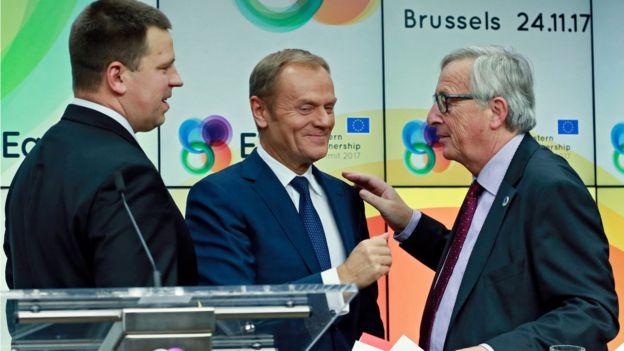 Голова Єврокомісії Жан-Клод Юнкер на початку саміту доволі різко нагадав, що