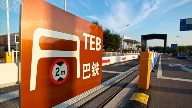 TEB test tracks