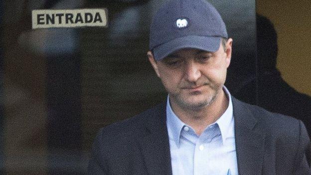 Joesley Batista após depoimento à Polícia Federal em 21 de junho