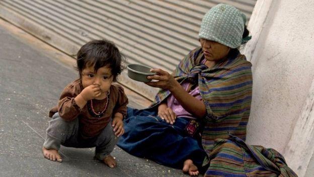 Guatemala es uno de los países más pobres del continente.