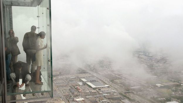 Đài quan sát The Ledge, Tòa tháp Willis, Chicago