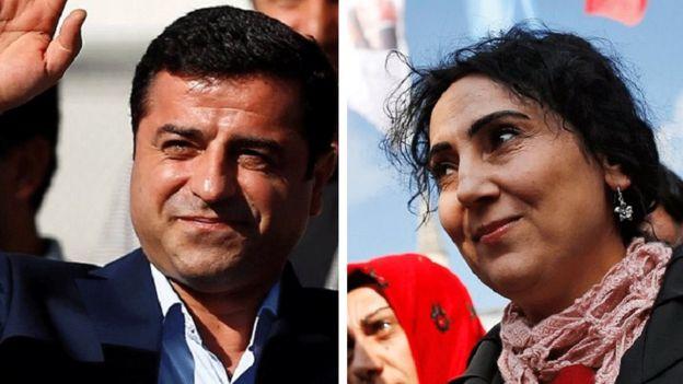 دو رهبر حزب دموکراتیک خلق ها