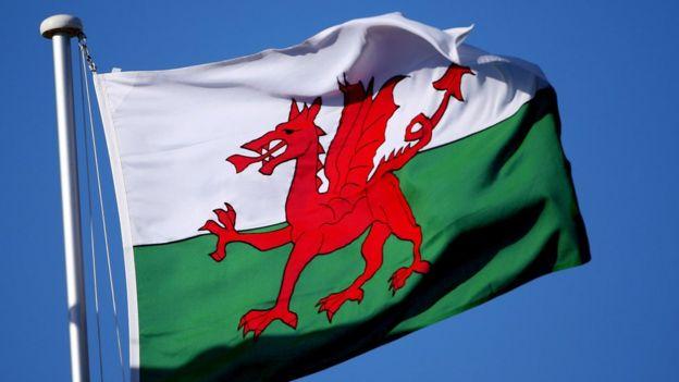 威爾士旗幟