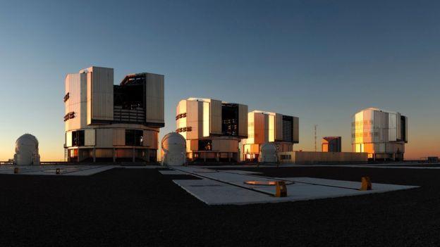 นักวิทยาศาสตร์ใช้กล้องโทรทรรศน์เวรี ลาร์จ เทเลสโคป ในประเทศชิลี สังเกตดาวเคราะห์น้อย