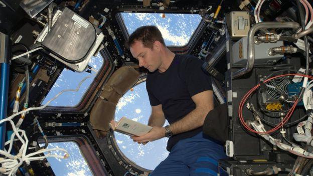 Thomas Pesquet en la Estación Espacial Internacional