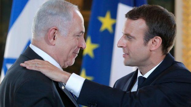 Netanyahu dan Macron