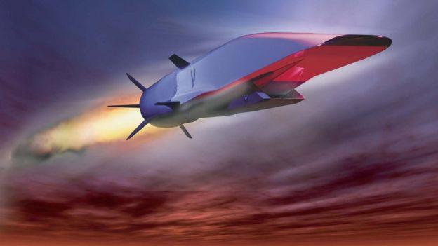 Ilustração do X-51A Waverider