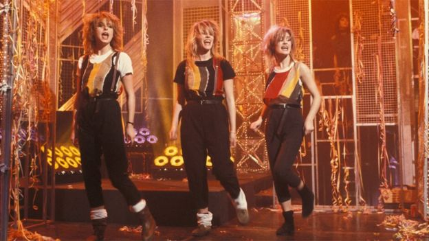 Bananarama en Top of the Pops en 1983