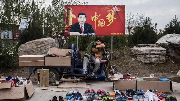 En China, les llaman