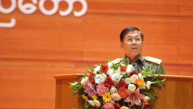 Myanmar Genelkurmay Başkanı Aung Hlaing