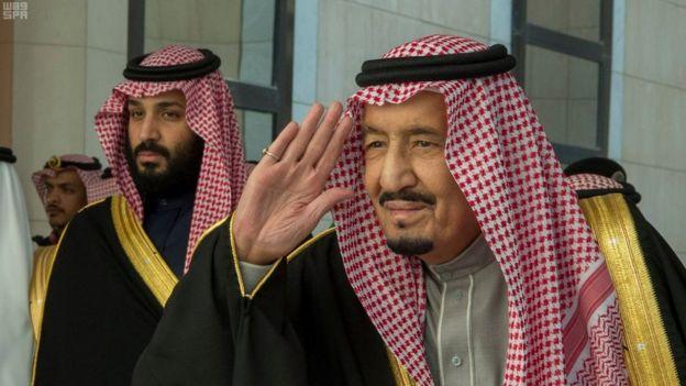 الملك سلمان والأمير محمد