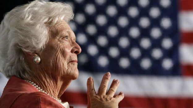 وفاة باربرا بوش سيدة الولايات المتحدة الأولى السابقة
