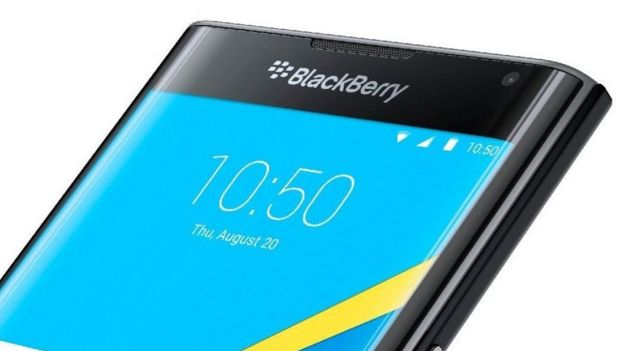 """BlackBerry """"Priv"""". Foto BlackBerry"""