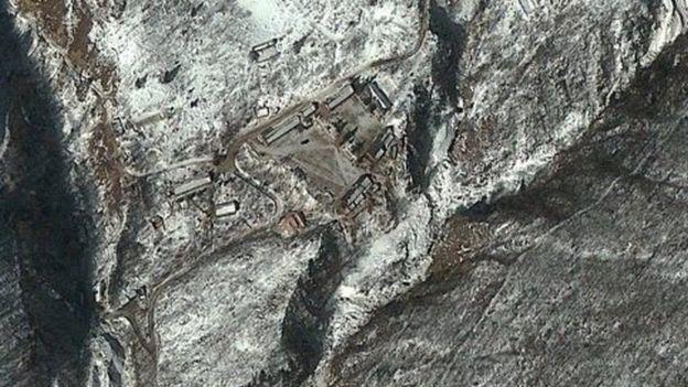 Imagen del centro de pruebas nucleares en 2013.