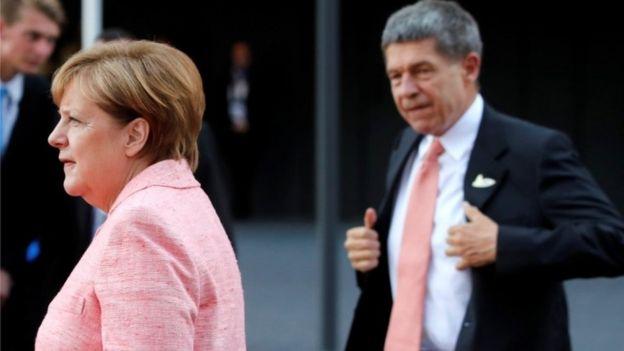 Merkel y Sauer