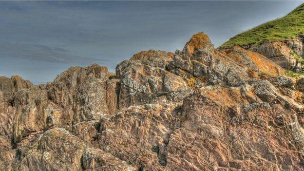 Pedras grauvaque do Ponto Siccar
