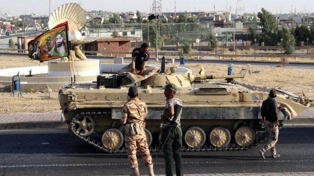 Irak ordusu ve müttefikleri Kerkük'te kontrolü tamamen ele geçirmiş durumda.