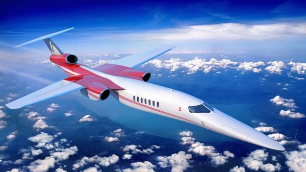 The company Aerion works with Lockheed Martin and GE Aviation to build a supersonic jet (Photo: Aerion).