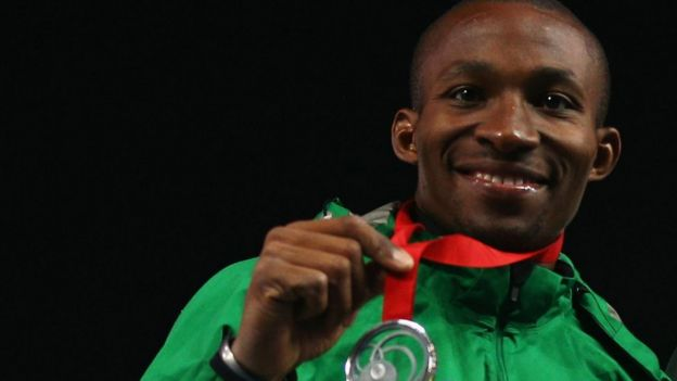 Tosin Oke won silver medals at the 2014 Commonwealth Games