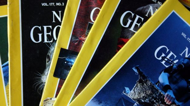 Ediciones de la National Geographic