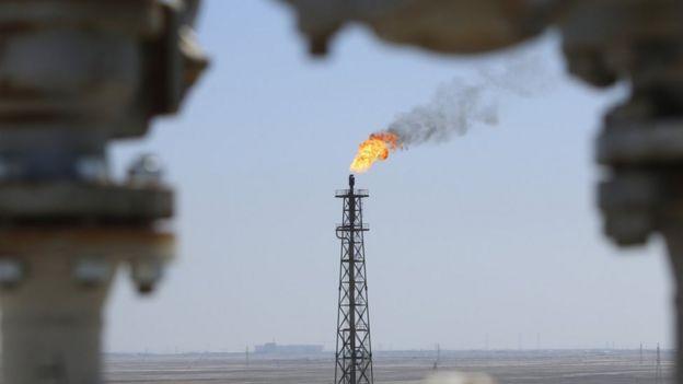 Produção de petróleo no Iraque