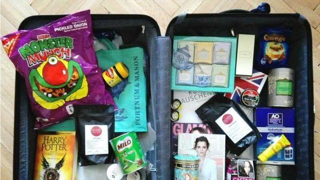 Una maleta llena