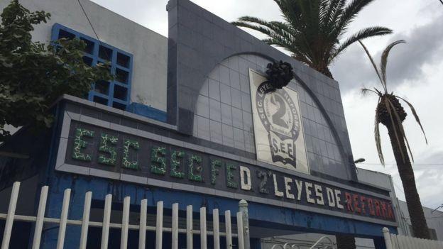 Escuela Leyes de Reforma, Tijuana, México (Foto: Beatriz Díez)