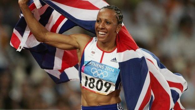 Kelly Holmes en los Juegos Olímpicos de Atenas de 2004