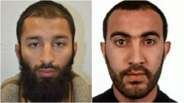 Исполнители теракта в Лондоне