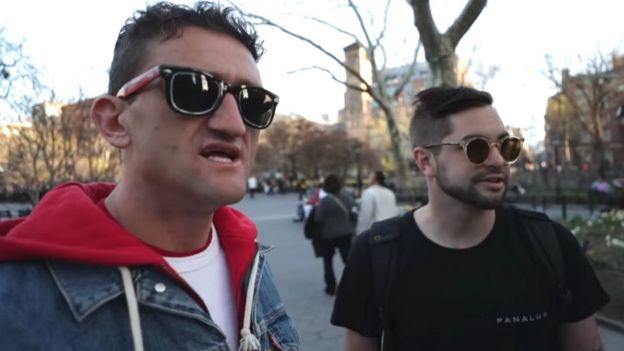 Casey Neistat and Dan Mace