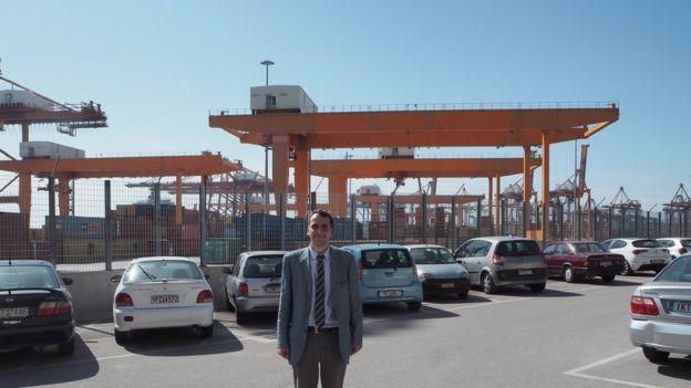 Nektarios Demenopoulos of the Piraeus Port Authority