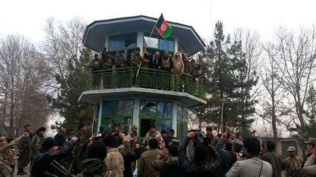 عملیات عقب راندن طالبان از جزیره درقد در مرز افغانستان آغاز شد
