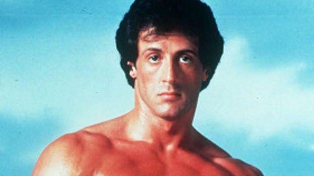 Sylvester Stallone como Rocky