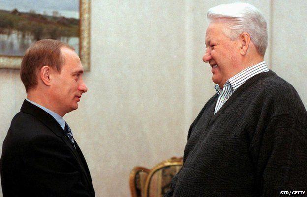 葉利欽 和普京