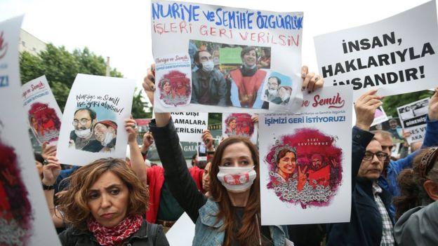 Bugün Nuriye Gülmen ve Semih Özakça'ya destek olmak 9 Haziran'da İstanbul'da düzenlenen eylem