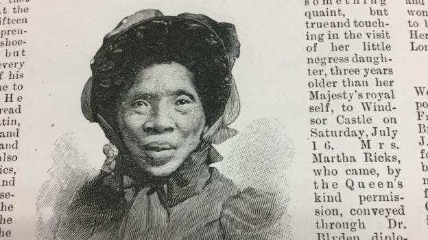 Dibujo de Marta Hicks en la página de un diario