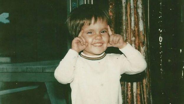 Khalil Rafati quando criança