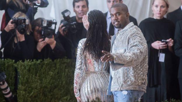 Kanye West (and Kim Kardashian)