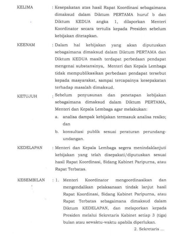 Inpres Jokowi