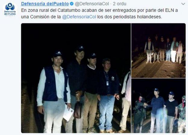 Tuir de la Defensoría del Pueblo de Colombia