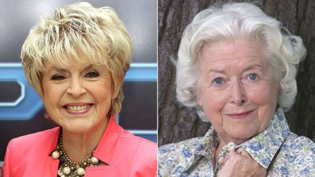 Gloria Hunniford and June Spencer