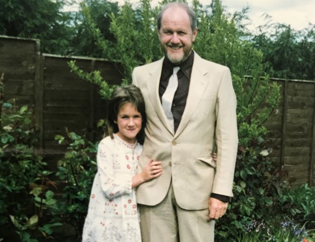 Robyn with her dad David