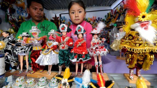 Figuritas en la Feria La Alasita.
