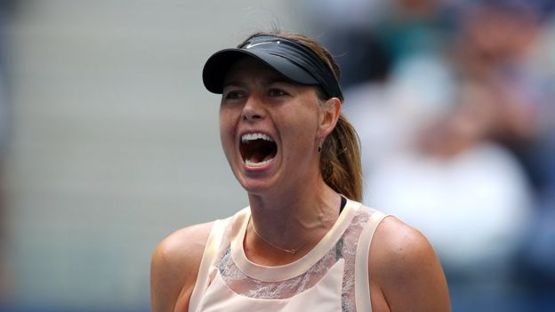 Image shows Maria Sharapova