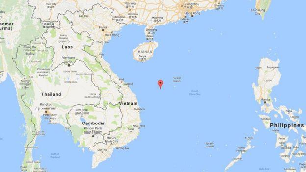 Đảo Tri Tôn (đánh dấu đỏ trên bản đồ)