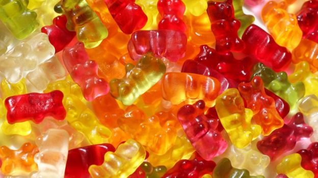 Gummy bear sweets